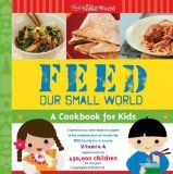 By Summer  I love to buy gifts. I especially love to buy gifts then they support a cause. Disney has released an It's a Small World cookbook for children called FEED Our Small World. The recipes are a little complicated for a chef-in-the-making, but this book is great for a little family time cooking!