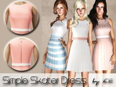 ice1's Simple Skater Dress (Maternity Clothing friendly)