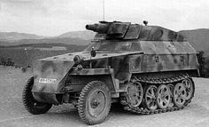 Sd.Kfz.250 with a short barreled 75mm