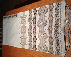 Swedish Weaving Patterns and Instructions | . Photos and instructions. Most patterns are in Swedish weaving ...
