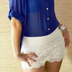 ♥♥ lace shorts