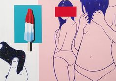 Star-Spangled Psyche: Painting series explores the minds of American Millennials