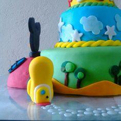 cake la casa de Mickey