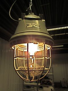 Industriële Lamp, Bunkerlamp Originele Ex DDR Designlamp - New IndustrialsNew Industrials Decor, Interior, Lighting, Lamp, Edison Light Bulbs, Home Decor, Light Bulb, Inspiration, Vintage