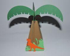 Caixa árvore Dinossauros