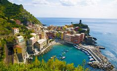 You can't beat the views in Cinque Terre, #Italy.(Photo: Prisma / SuperStock)