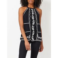 Embroidered Trapeze Top | Women | George at ASDA