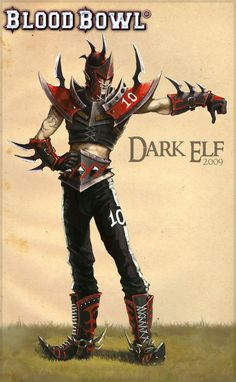 Dark elf artwork