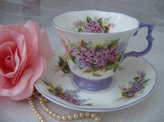 Vintage  ROYAL ALBERT  Blossom Time  Series by YorkshireTeaCupShop, $25.00