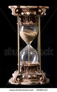 Antique Sand-glass - stock photo