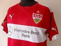 Maglia Calcio Stuttgart Jersey Puma Trikot Mercedes-Benz Bank Maillot Tg. M