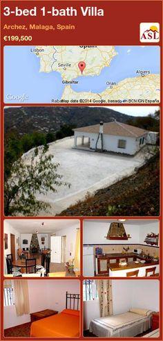 3-bed 1-bath Villa in Archez, Malaga, Spain ►€199,500 #PropertyForSaleInSpain