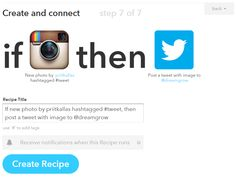 Post Instagram Images to Twitter as Images