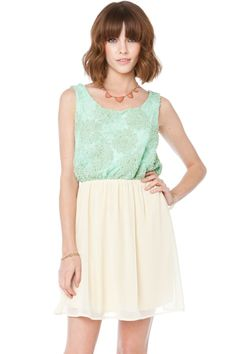 ShopSosie Style : Astrid Dress in Mint