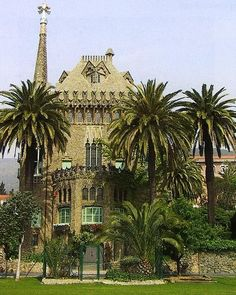 Torre Bellesguard - Barcelona, Espanha