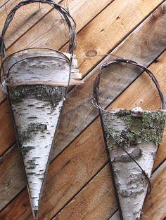 Birch baskets