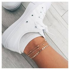 New anklets ⭐️ #jewerly ✨ https://www.instagram.com/p/BHNUq2rglNY/