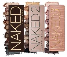 3 Naked Palettes
