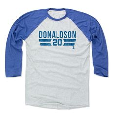 Josh Donaldson Font B Toronto Officially Licensed MLBPA Baseball T-Shirt Unisex S-3XL