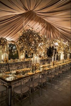 12 inspired ideas for an extravagant fete on your wedding day! Get wedding day inspiration for beach wedding decor, simple and elegant wedding table settings, big wedding cakes and wedding tent designs. Glamorous Wedding, Luxury Wedding, Elegant Wedding, Dream Wedding, Whimsical Wedding, Extravagant Wedding Decor, Gothic Wedding, Boho Wedding, Wedding Tent Decorations