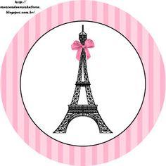<center>Paris preto e rosa</center> | Montando minha festa