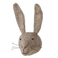 Your little adventurer will love our soft and adorable Singoli Hare Head. Handmade from wool felt, this kids' decoration will add some woodland fun to their room. Made using an appliqué design, with sewn on eyes, moustache and mouth as well as a small wall mounting loop behind, your child will enjoy having the cute Singoli taking pride of place in their bedroom or play room.  Choose from six different animal heads.