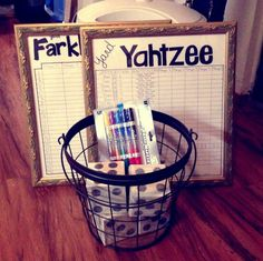 Diy Yard Yahtzee Dice Game Gift
