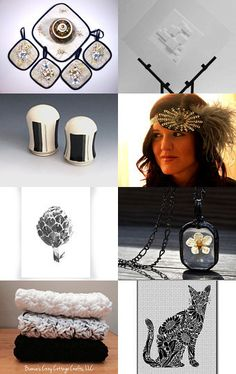 The best of black and white by Angela on Etsy--Pinned with TreasuryPin.com