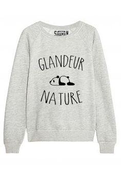 "Sweat ""Glandeur Nature"""