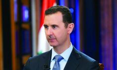 Syrian President Bashar al-Assad. — File Photo