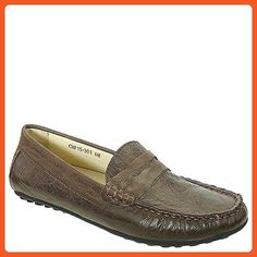 David Tate Women's Carson Casual Moccasins, Brown Leather, 8 N - Loafers and slip ons for women (*Amazon Partner-Link)