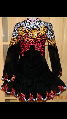 Michelle Lewis Irish Dance Solo Dress Costume