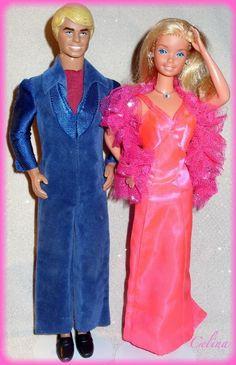 1977 Original Superstar Barbie & Ken! Remember the song...Barbie, Barbie, Barbie, Barbie and Ken, Ken, Ken...