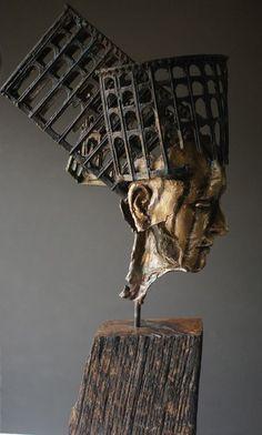 Heads — philip wakeham sculpture Sculpture Head, Pottery Sculpture, Modern Sculpture, Abstract Sculpture, Bronze Sculpture, Cheap Art, Sculpture Projects, Foto Art, Human Art