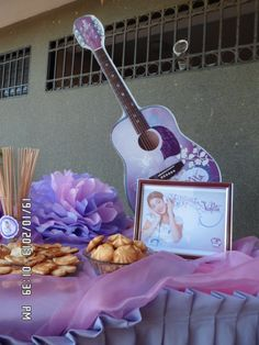 MESA dULCES Violetta Party