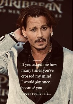 Johnny Depp Quotes, Johnny Depp Pictures, Johnny Depp Fans, Here's Johnny, Celebrities Then And Now, Cute Celebrities, Celebs, The Tourist Movie, Crazy Quotes