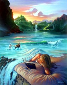 We have listed creative and Stunning Surreal Paintings and Art works from top artists around the world. Surrealism is an art movement which started in and it opened up whole new door of Illusion Kunst, Illusion Art, Robert Gonsalves, Digital Art Illustration, Fantasy Kunst, Vladimir Kush, Surrealism Painting, Painting Art, Modern Surrealism