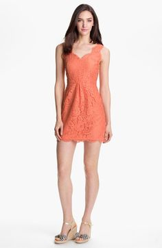 'Rori' Sleeveless Lace Dress