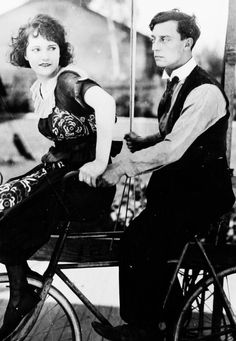Sybil Seely and Buster Keaton
