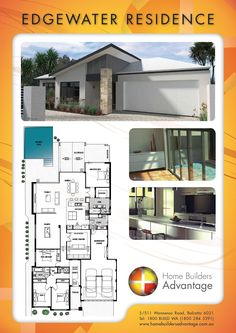 Home Builders Advantage- Perth's Biggest Building Broker- Single Storey Home Designs-www.homebuildersadvantage.com.au