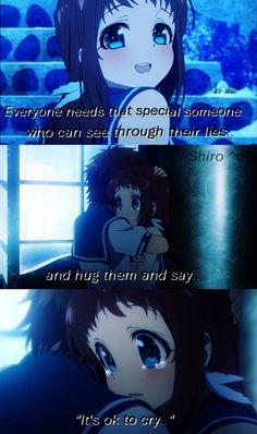 Aye.<3  Anime: Nagi no Asukara