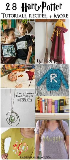 28 tutorials, recipes, crafts, party ideas and more for Harry Potter fans - Rae Gun Ramblings