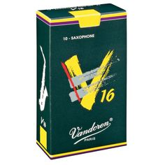 Vandoren V16 Soprano Saxophone Reeds Strength 3.5 (10 Pack): The Vandoren V16 Soprano Saxophone Reed was launched in 1993 to answer the…