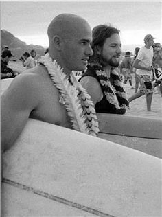 """""""I had never surfed with music until a few years ago and the first wave I caught, I can definitively state that it was such a powerful thing that it was like almost hearing music for the first time."""" Happy International Surfing Day!  Eddie Vedder, Pearl Jam"""