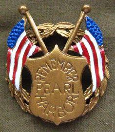Pearl Harbor pin                                                                                                                                                                                 More
