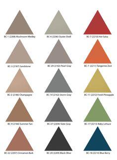 triangular colored c