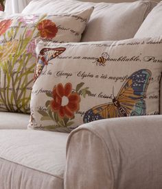 pretty pillows by Country Curtains