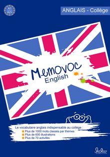 Memovoc : Apprendre l'anglais facilement - Exercices en ligne gratuits et progressifs. English Book, English Class, English Lessons, Teaching English, Learn English, Better English, English Resources, Flipped Classroom, English Vocabulary