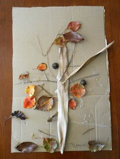 Nature art project.
