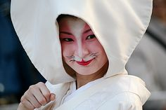 津川 狐の嫁入り行列
